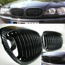 Passend für BMW E46 3er COUPE CABRIO FACELIFT 2003-2005 NIEREN GRILL IN CARBON