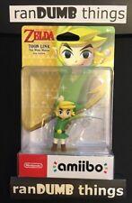 Toon Link Wind Waker Amiibo Legend of Zelda BOTW Switch 3DS Wii U -ships from NJ