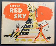 """Vintage 1948 """"Little Red Sky"""" Arm & Hammer Pamphlet and Story Book"""
