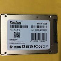 """NEW KingSpec SSD 512 GB 512GB 2.5"""" SATA3 Internal Solid State Drive"""
