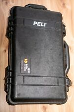 Peli Case 1510 with padded divider set - black, used, very good condition