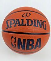 Mens NBA Spalding Basketball Ball Official Size Men Rubber Outdoor Gym Sports