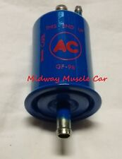 NEW blue with red AC delco logo GF-98 fuel filter Chevy Chevelle Pontiac GTO
