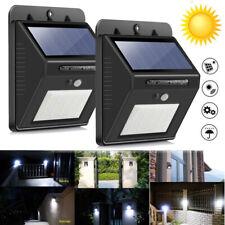 Solarleuchten für Außen 25LED Außen solarlampen mit Bewegungsmelder wandleuchte