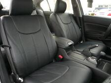 Clazzio Leather Custom Black Seat Covers for Honda Accord Sedan 2013-2016