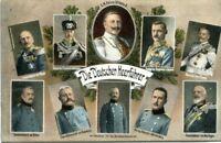uralte AK, Die Deutschen Heerführer, Kluck, Hindenburg, Bülow...., Feldpost