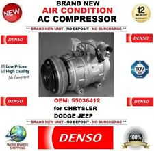 DENSO NEW AIR CONDITIONING AC COMPRESSOR OEM: 55036412 for CHRYSLER DODGE JEEP