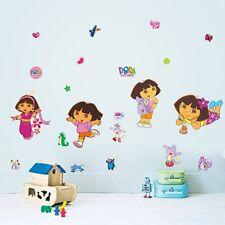 Dora Explorer Wall Decor Decal Sticker Removable Nursery Girls Kids Baby Art DIY