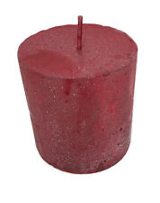 Christmas Red Candle 7cm Tall Lavender Home Decoration Decor