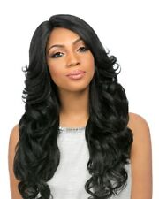 PERM ROMANCE - SENSATIONNEL SYNTHETIC EMPRESS CUSTOM LACE FRONT WIG LONG CURLY