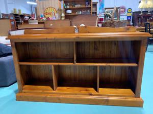 H7032 Pine Timber Bookshelf