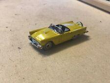 1988 Matchbox 1957 Ford Thunderbird Car Yellow Elvis Americana
