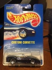 1992 Hot Wheels Custom Corvette #200 with Wire Wheels