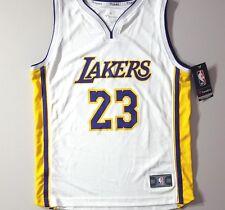 LAKERS LeBron James Fanatics 'Association Edition' NBA Jersey Yth Sz Large