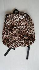 Victoria's Secret PINK Leopard Black Cheetah Everyday Backpack Lightweight