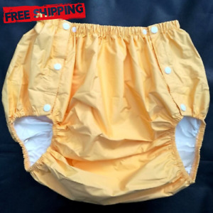 Adult Diaper Incontinence Pants Urine Absorption Adjustable Non Disposable Pvc