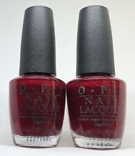 OPI Nail Polish Speak Got Your-elf HL C50 Holiday Red Glitter Lacquer