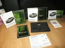 2012 FORD TAURUS OWNERS MANUAL BOOK SET + CASE  + NAVIGATION ALL TRIMS