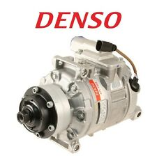 For Air Condition A/C Compressor w/ Clutch Denso OEM For Audi A6 Quattro S4 S6