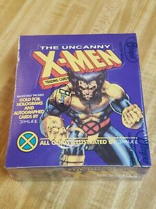 1992 Marvel THE UNCANNY X-MEN Trading Card Factory Sealed Box Impel Wolverine