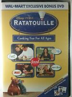 Disney/Pixar Ratatouille Cooking Fun For All Ages Bonus DVD Food Network New