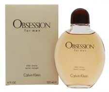 CALVIN KLEIN OBSESSION AFTER SHAVE SPLASH 125ML - MEN'S FOR HIM. NEW