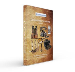 GS Sammlungsverwaltung 5 - Software Programm für Sammler - Sammlung Verwalten
