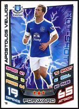 Apostolos Vellios #71 Topps Match Attax Football 2012-13 Trade Card (C440)
