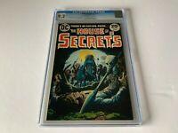 HOUSE OF SECRETS 112 CGC 9.2 SKULL ON SPEAR COVER HORROR DC COMICS 1973