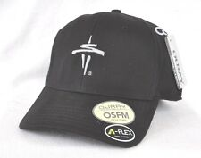 *SEATTLE SPACE NEEDLE* Structured OSFM Fitted A-FLEX Ball cap hat OURAY