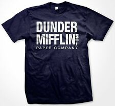 Dunder Mifflin Paper Company- The Office Funny TV Slogans Humor- Men's T-shirt