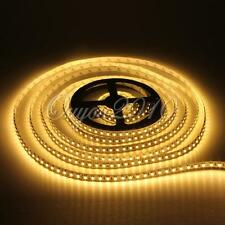 5M 600 LED 3528 SMD Pure/Warm White Non-Waterproof Flexible Strip light DC 12V