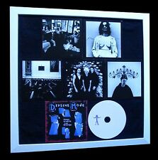 DEPECHE MODE+Songs Faith+LTD+GALLERY QUALITY FRAMED+FAST GLOBAL SHIP+Not Signed