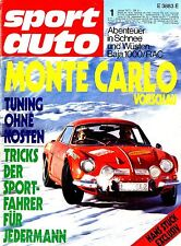 1973 SPORT AUTO MAGAZINE 1 BAJA 1000 RAC HANS STUCK DEUTSCH GERMAN