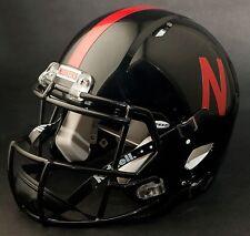 NEBRASKA CORNHUSKERS 2012 Revolution SPEED Football Helmet (BLACK)