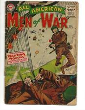 All American Men Of War  #27 1955 Airborne Assault Cover!