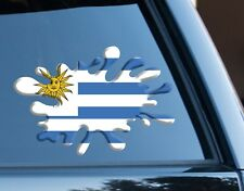 Uruguay Splat fun Decal Sticker Car Van Laptop suit case Rugby Football Sport