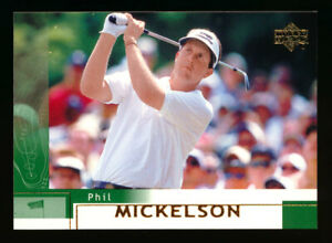 2002 UPPER DECK GOLF #41 PHIL MICKELSON RC BASE ROOKIE!