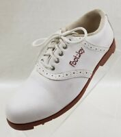 FootJoy Green Joys Womens Golf White Lace Up Shoes Size 6M