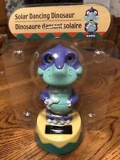 Solar Powered Dancing Toy New - Purple Dinosaur