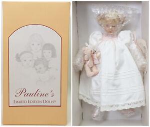 Pauline's Limited Edition Dolls Porcelain Love PP 409 COA Shipper NRFB