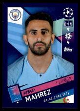 Topps Champions League 2018/19 - Riyad Mahrez Manchester City FC No. 166