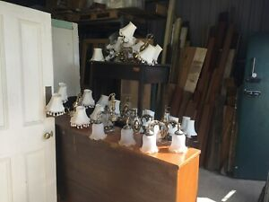 LIGHTS, CEILING, WALL, CHANDELIERS .MIX ALL VERY GOOD CONDITION £350 THE LOT