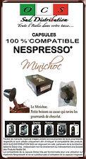 50 capsules de chocolat compatibles NESPRESSO®