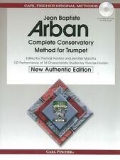 Jean Baptiste Arban: complete Conservatorio método Para Trompeta trompeta (Libro/CD)