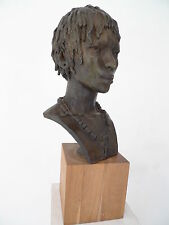 Jacques Darbaud - sculpture bronze 1/8 - cachet fonte Artfont