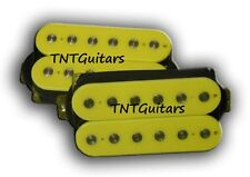 Dragonfire Guitars SCREAMERS Humbucker Pickup SET, Bridge&Neck HH Pickups YELLOW