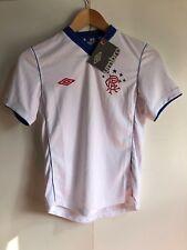Umbro Rangers FC Football Kid's Away Jersey - 9-10 Years - White - New