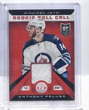 13/14 Anthony Peluso Panini Totally Certified Hockey Rookie Roll Call Red Jersey