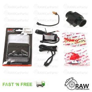 KOSO Digital Coolant Temperature Gauge & Sensor Kit (Drift JDM Civic 200SX MX5)